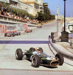 Brabham sur Brabham Monaco 1964