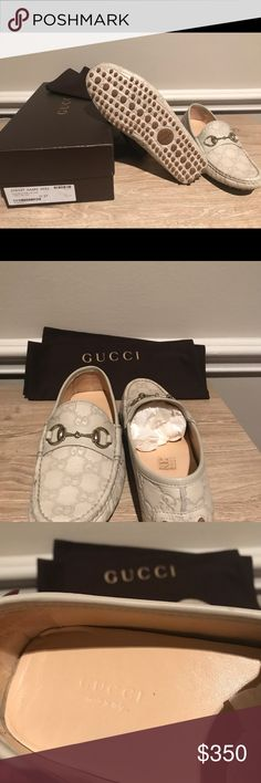 Gucci Horsebit Loafer Light Tan leather Gucci loafer size 37, US 7 women's shoe Gucci Shoes Flats & Loafers
