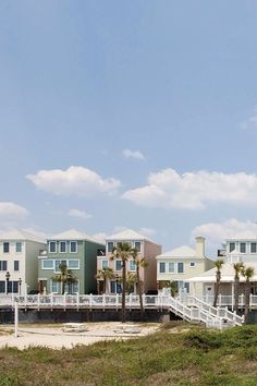 From a vantage point on the beach, the resort resembles Charleston's Rainbow Row. Wild Dunes Resort by Destination Hotels (Isle of Palms, South Carolina) - Jetsetter