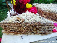 Домашни вкусотии: Вафлена торта