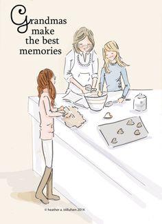 He encontrado este interesante anuncio de Etsy en https://www.etsy.com/es/listing/212277432/grandmas-make-the-best-memories-family