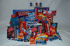 Red-White-and Blue missionary care package