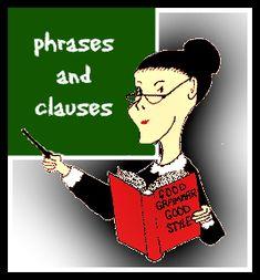 Miss grammar phrase clause