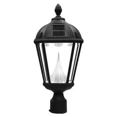 The Gama Sonic Royal Solar Outdoor Light Fixture Model Gs 98f Is Perfect Energy