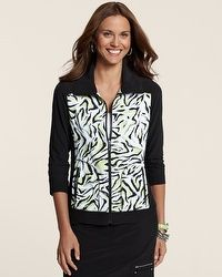 Zenergy Golf Boomerang Print Jacket, I didn't know Chico's did golf wear!