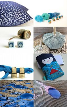 Don't Get the Blues...Buy the Blues! by Shelley Noe on Etsy--Pinned with TreasuryPin.com