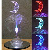 Fiber Optic Light - Led Moon Lamp - Great for a Child's Bedroom for a Unique Night Light - Color Changing Lights christmas deals week