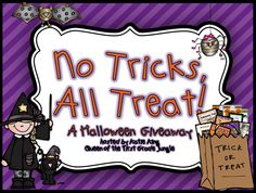 Queen of the First Grade Jungle: *No Tricks, All Treat Giveaway*