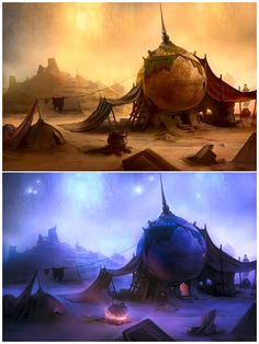 ArtStation - Prince of Persia , Bruno Gentile - Hydropix