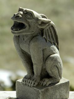 Babygoyle-gárgola ornamento arquitectónico gótico por CastShadows