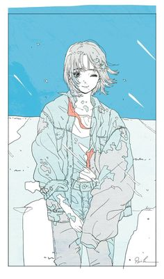 かとうれい Rei Kato Art And Illustration, Illustrations, Character Illustration, Kunst Inspo, Art Inspo, Anime Art Girl, Manga Art, Aesthetic Art, Aesthetic Anime