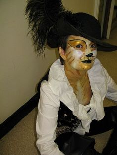 Gestiefelter Kater Kostüm selber machen | Kostüm Idee zu Karneval, Halloween & Fasching