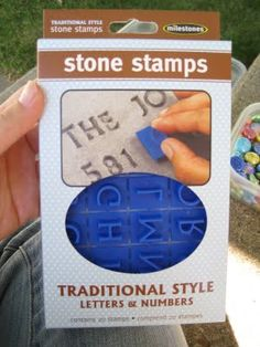 Hobby Mommy Creations: Kid Friendly Stepping Stones