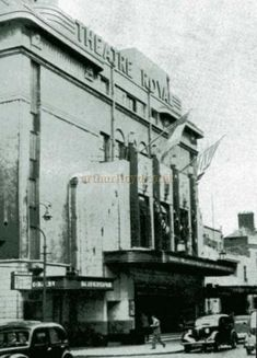 The third and final Theatre Royal in Hawkins Street, Dublin - Courtesy McLaughlin & Harvey Ltd From their 'Centenary booklet 1853 - Old Pictures, Old Photos, Photo Engraving, Dublin City, Edward Hopper, Stoke On Trent, Booklet, Theatre, Third