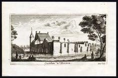Antique Print-CASTLE-MERKSEM-BELGIUM-Le Roy-1678