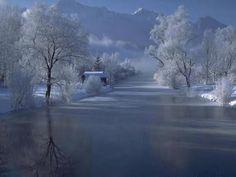 Frozen River Wallpaper