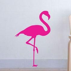 Flamingo Fun vinyl decal Etsy