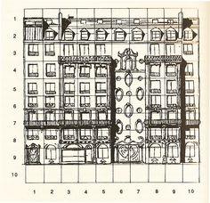 Perec's Apartment Block - Rue Simon Crubellier