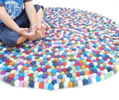 I would LOVE this rug (for a kids room)