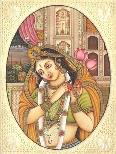 Mughal Paintings, Dance Paintings, Indian Art Paintings, Cute Paintings, Madhubani Painting, Rajasthani Painting, Rajasthani Art, India Painting, Painting Art