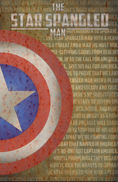 The Star Spangled Man. A little poster I came up with for fun. :-)