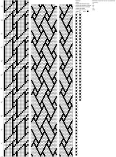 Рисуем схемы для жгутов из бисера, вышивки и др.'s Fotos Bead Crochet Patterns, Beading Patterns Free, Bead Crochet Rope, Beading Tutorials, Loom Bracelet Patterns, Bead Loom Bracelets, Bead Loom Designs, Beaded Crafts, Peyote Beading
