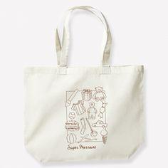Sac shopping Super Marraine à personnaliser en choisissant la couleur de l'impression. Reusable Tote Bags, Impression, Child Art, Large Bags, Original Gifts, Handkerchief Dress, Pretty Designs