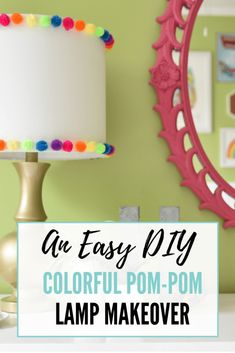 This colorful DIY po