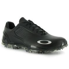 Oakley CarbonPro Golf Cleats Mens Black Leather - ONLY $199.99