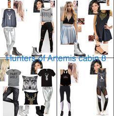 Hunters of Artemis cabin 8 Percy Jackson Cabins, Percy Jackson Art, Percy Jackson Fandom, Other Outfits, Girly Outfits, Casual Outfits, Cute Outfits, Percy Jackson Costume, Percy Jackson Outfits