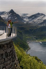 Geiranger, Ørnevegen - Photo: CH/Innovation Norway