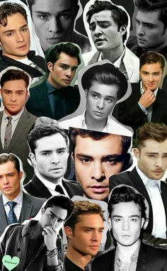 Ed Westwick collage as requested by anon As always pretties please don't remove credit :) -Tenebris