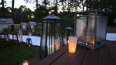 PartyLite im Garten / PartyLite en plein air Bougie Partylite, Lanterns, Gazebo, Deck, Outdoor Structures, Candles, Outdoor Decor, Beautiful, Home Decor