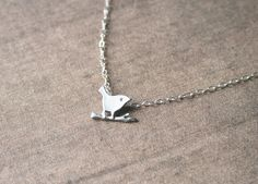 Silver Necklace,Little Bird on Branch,Dainty Silver Necklace,Delicate Necklace,Cute Necklace,Dainty Necklace https://www.etsy.com/listing/199449686/silver-necklacelittle-bird-on