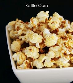 Kettle Corn. Home made!