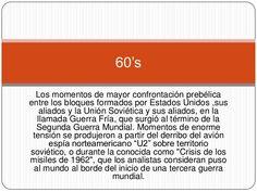 La moda y su contexto en los 60's Travel, World War Two, Cold War, Art, Viajes, Destinations, Traveling, Trips