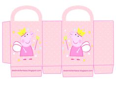 Peppa Pig, Party, Teacup Pigs, Little Girls, Crates, Parties