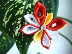 Kanzashi Flower Butterfly Tsumami Kanzashi Ribbon by NStellaDesign, $10.00