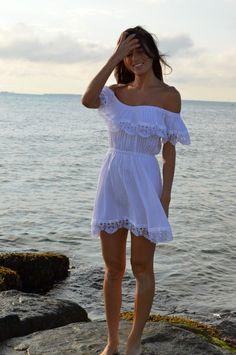 off the shoulder sundress