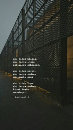 @sepi Quotes Rindu, Quotes Lucu, Cinta Quotes, Quotes Galau, Message Quotes, Reminder Quotes, Story Quotes, Tumblr Quotes, Text Quotes