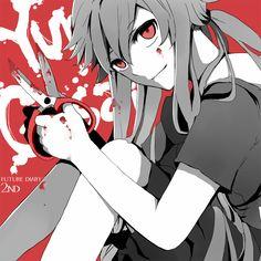 Tags: Anime, Mirai Nikki, Pixiv, Gasai Yuno, dreamocean