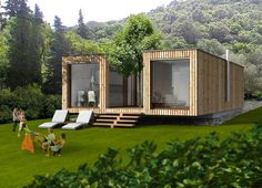 Container House - Container House - Who Else Wants Simple Step-By-Step Plans To Design And Build A Container Home From Scratch? - Who Else Wants Simple Step-By-Step Plans To Design And Build A Container Home From Scratch? Building A Container Home, Container Cabin, Container Buildings, Container Architecture, Container House Plans, Architecture Design, Prefabricated Houses, Prefab Homes, Modular Homes
