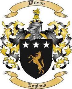 wilson coat of arms - .