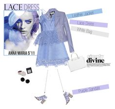 """""""No 327:Lovely Lace Dress"""" by lovepastel ❤ liked on Polyvore featuring Balenciaga, self-portrait, Miista, Michael Kors, Mullein & Sparrow, NARS Cosmetics and lacedress"""