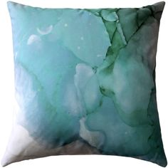 Like the Amazonite crystal, the Amazonite Throw Pillow speaks to the heart and opens up the opportunities to heal your décor.