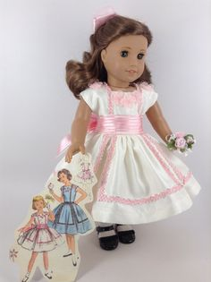 American Girl 18-inch Doll Clothes 1950's Party by HFDollBoutique