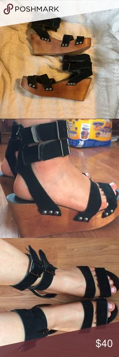 Ecote platform sandals size 6 Worn a few times still in good condition Ecote Shoes Sandals