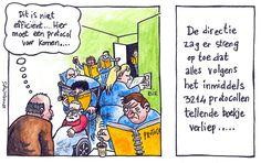 Cartoon PatientVeilig.nl #zorg #veiligheid #test4stage #protocol #cartoon