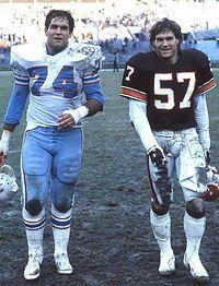 Bruce Matthews (L) & Clay Matthews (R) 1984