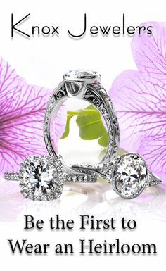 Knox Jewelers take extreme pride in our unique line of engagement rings. We use materials made of the highest quality and our fabrication techniques utilize cutting-edge technologies alongside old-world, proven jewelry-making methods. We don't believe in hollowed-out shanks or cast filigree. We believe in doing things the right way, even if it's harder and takes longer. Click on pin and contact us.